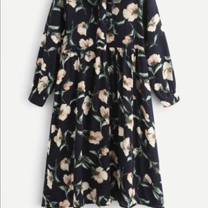 Hipster Chic Floral Dress